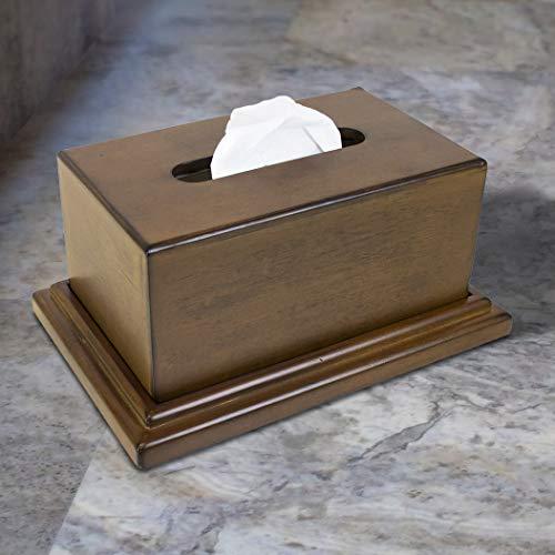 American Furniture Classics 434 Concealment Tissue Box, Walnut Finish