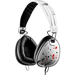 Skullcandy Aviator Headphones w/Mic3 Ting Ting/White (2011 Color), One Size