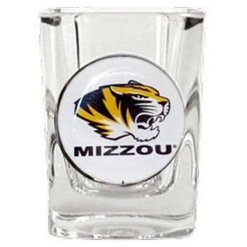 Great American 8900682977 2 oz. Missouri Tigers Square Shot Glass