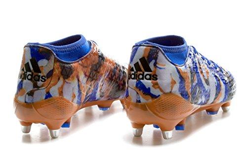 Adidas Adizero Malice 7S SG, Scarpe per Allenamento Calcio Uomo, Blu (Azul/Negbas/Azusen), 44/45 EU