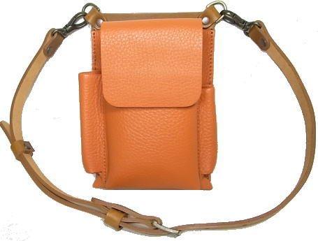 フローリストケース衣(ころも)C/剪定バサミ B079WX33VK キャメル×オレンジ キャメル×オレンジ