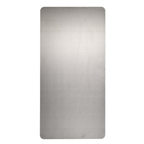 """Excel Dryer 89S Stainless Steel XLERATOR Wall Guard for XLERATOR Hand Dryer, 15-3/4"""" Width x 31-3/4"""" Height x 1/16"""" Depth (Pack of 2)"""