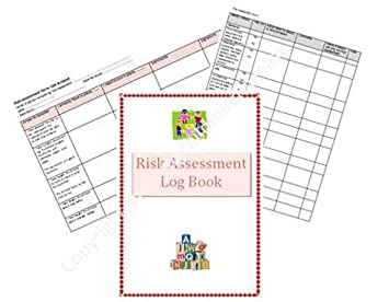 Early Years childminder Risk Assessment log book: Amazon.co.uk ...