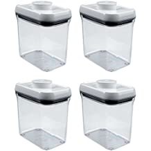OXO Good Grips POP Rectangle 1.5-Quart Storage Container (Set of 4)