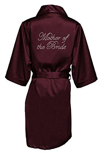Vestaglia Of donna Bride Zynotti Wine Mother The 0dvw5q6