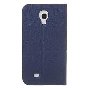 FJM MOMOCA Brand Elegant Design High Quality Wood Grain PU Leather Full Body Case for Samsung Galaxy S4 I9500 , Red