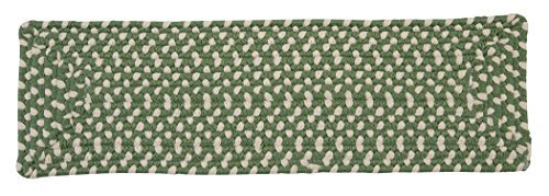 Montego MG19 Stair Tread, Lily Pad Green, 13-Pack by Montego