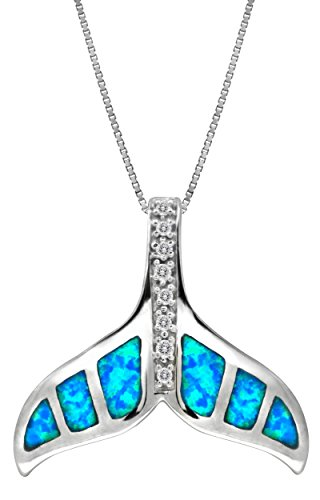 Sterling Accented Necklace Pendant Simulated