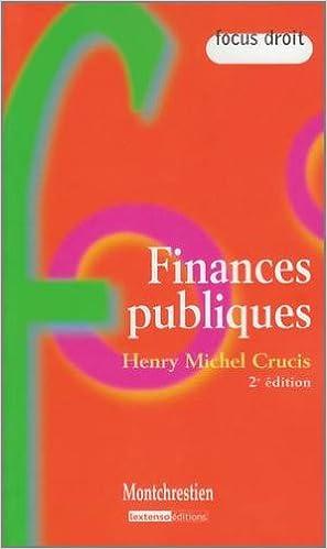 Livre gratuits en ligne Finances publiques pdf