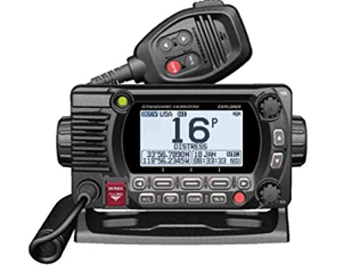 STANDARD HORIZON GX1800GB Black 25W VHF/GPS/Second Station Explorer Series by STANDARD HORIZON