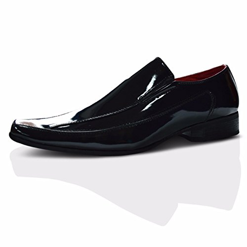 black Mocassini Xelay patent Xelay Mocassini Uomo Uomo UXOw4TqxP