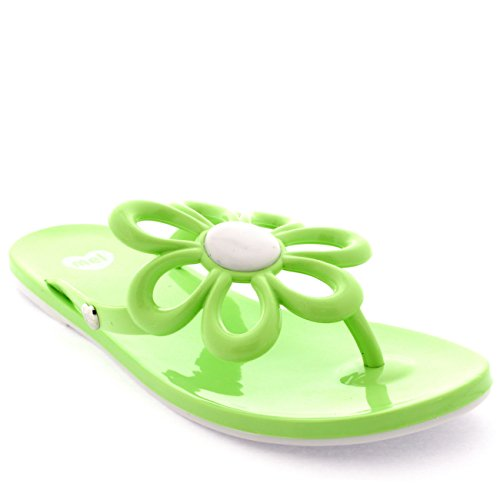 b70711ee0d70 Womens Mel Dreamed By Melissa Flower Daisy Scented Summer Flip Flops - Mint  - 10 - Buy Online in UAE.