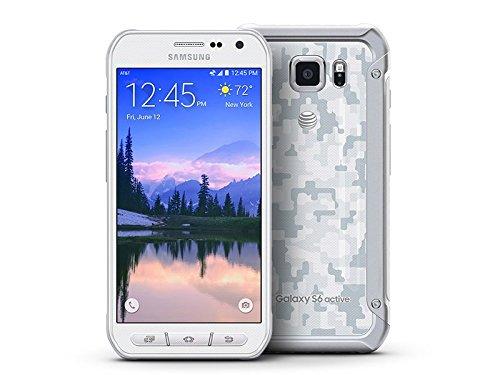 "Samsung Galaxy S6 Active G890A (64GB) 5.1"" Rugged Waterproof IP68 GSM Unlocked Smartphone (White)"