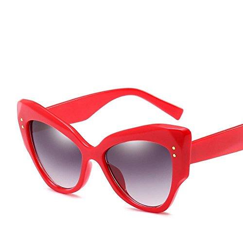 Tendencias Europa Hombre Sol Retros arroz y Unidos Gafas de Mujer con Estados Regalos F Sol Sol Gafas Las de Axiba uñas de de Ojo de Gato de Gafas creativos Moda Las qg1pPdYwn