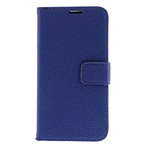 RC - Lichee Pattern PU Leather Full Body Case for Samsung Galaxy S4 Active I9295 (Assorted Colors) , White