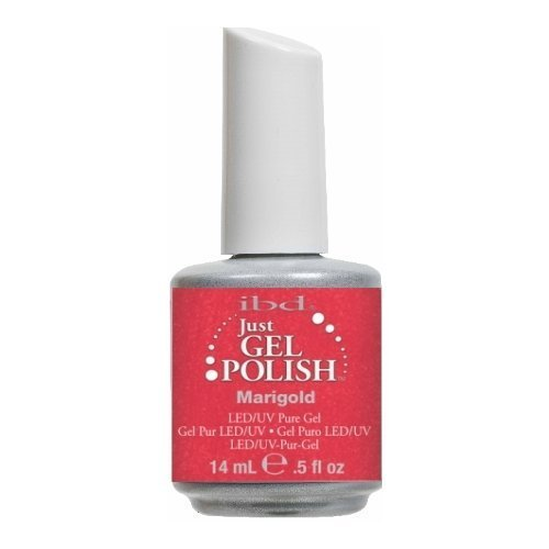 IBD Just Gel Nail Polish, Marigold, 0.5 Fluid Ounce by IBD