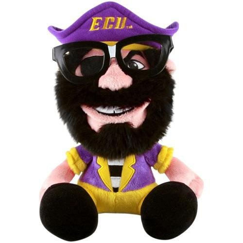 (Fabrique Innovations NCAA Study Buddy Mascot Plush Toy, East Carolina)