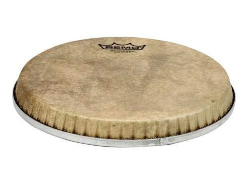 - Remo S-Series Skyndeep Bongo Drumhead - Calfskin Graphic, 8