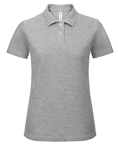 B&C - Camiseta - para mujer gris