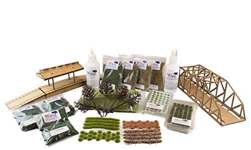 War World Scenics Large Set – OO Railway Modelling Model Diorama Scenery Landscape from War World Scenics