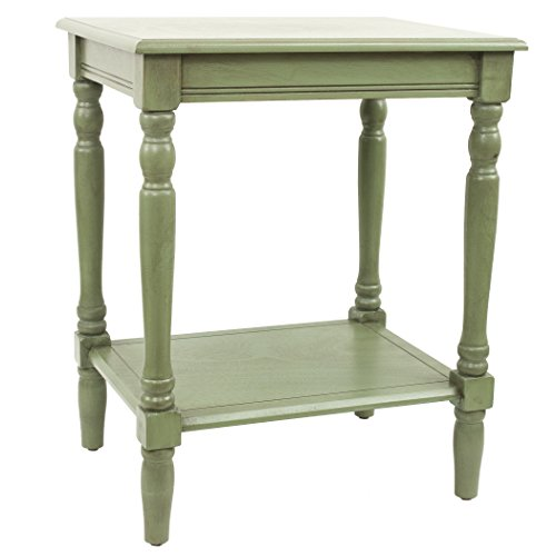 (Décor Therapy FR1572 Simplify End Table, Green)