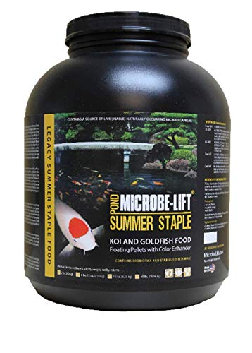 Microbe Lift Legacy MLLSSXL Summer Staple Koi and Goldfish Food, 14 Pounds