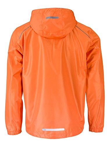 James Amp; Jacket Mens' Carbon Blouson Homme Nicholson Orange Rain 7gbfI6mYyv