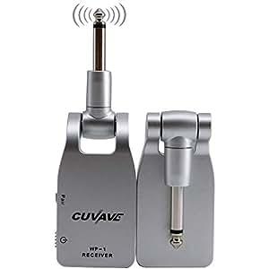 dezirzjjx guitar transmitter receiver 2019 cuvave wp 1 2 4g wireless built in. Black Bedroom Furniture Sets. Home Design Ideas