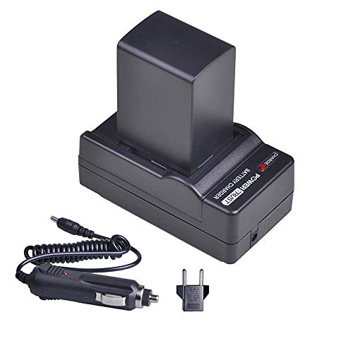 PowerTrust BP-828 Battery Pack and Charger for Canon VIXIA HF20, HF21, HF200, HF G10, HF G20, HF M30, HF M31, HF M32, HF M40, HF M41, HF M300, HF M400, HF S10, HF S11, HF S20