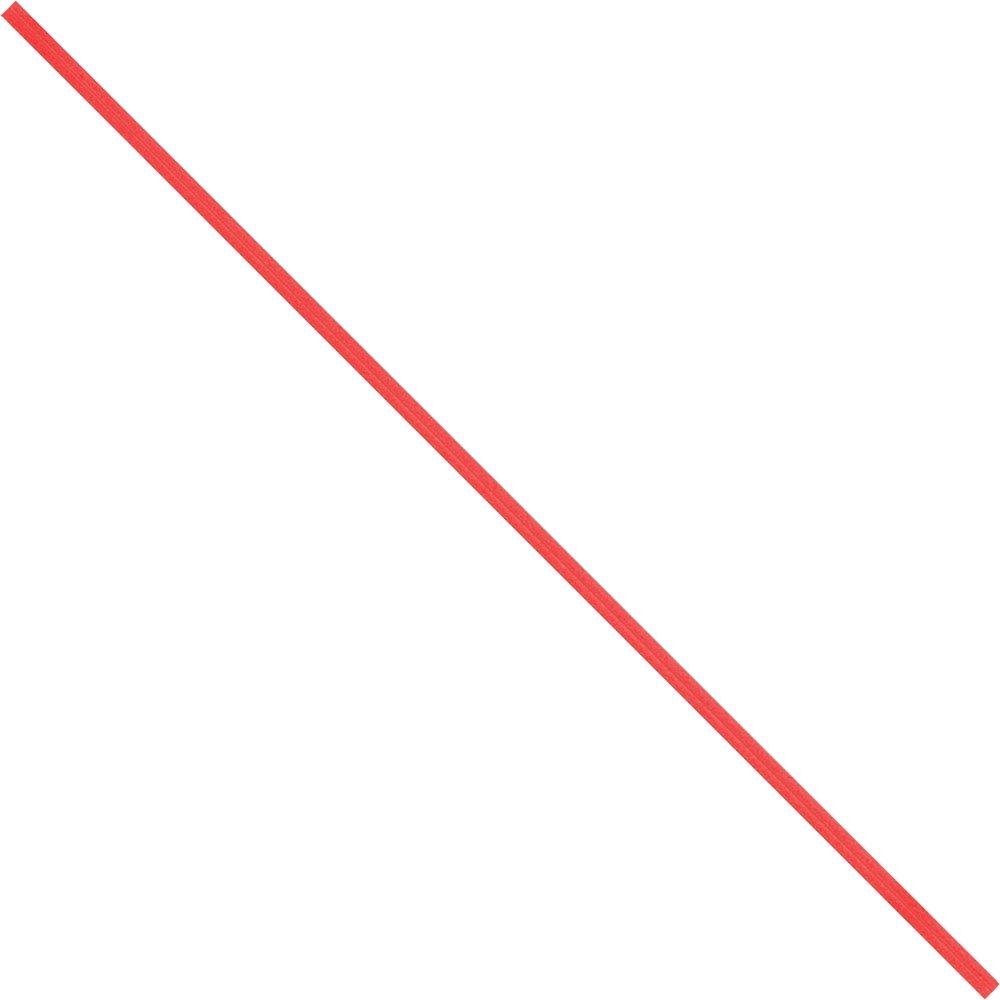 BOX USA BPBT12R Paper Twist Ties, 12'' x 5/32'', Red (Pack of 2000)
