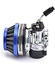 Racing Carburetor 2 Stroke 49cc 66cc 70cc 80cc With Air Filter For 2 Stroke Engine Motorized Bicycle BLUE