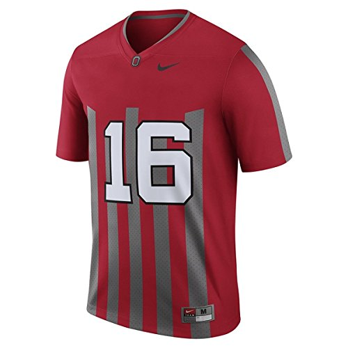 Nike Men's Ohio State Buckeyes Limited Edition 1916 Tribute Jersey JT Barrett L