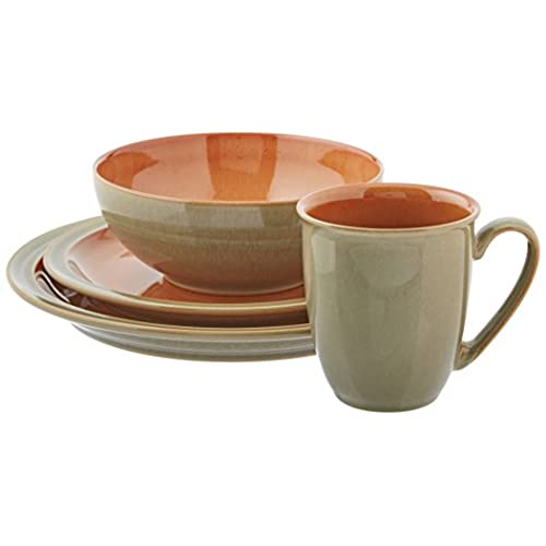 Denby Blends Fire 4 PC Placesetting  sc 1 st  Amazon.com & Denby Dinnerware: Amazon.com