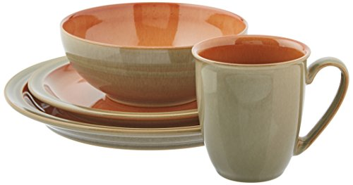 Denby Blends Fire 4 PC Placesetting