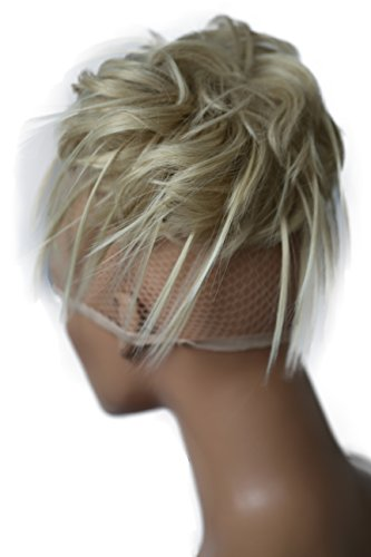 PRETTYSHOP Hairpiece Hair Rubber Scrunchie Scrunchy Updos VOLUMINOUS Wavy Messy Bun lightblond # 24T613 G4F by Prettyshop Hairpiece