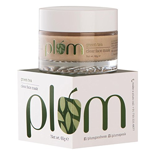 Plum Bestselling Green Tea Clear Face Mask; clay face mask f