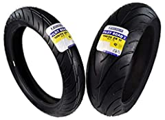 If you like to take it easy and cruise the open road but still enjoy pushing your bike's limits every now and then, the Pilot Road 2 from Michelin may be the tire for you. The Road 2 is a dual-compound tire that has a very quick warm-up time,...