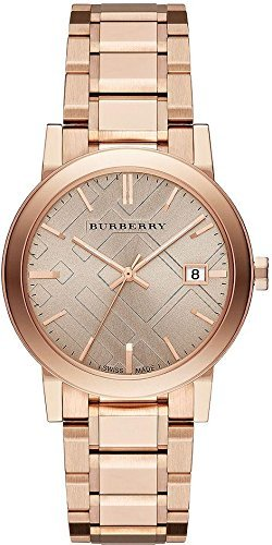 Burberry Rose Dial Rose Gold-tone Ladies Watch BU9034, Model: BU9034, Hand/Wrist Watch Store (Burberry Digital compare prices)