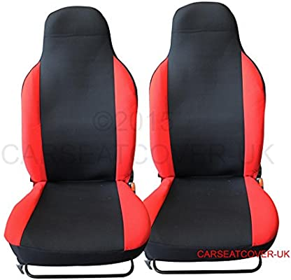 Super Mg Zs Luxury Red Racing Car Seat Covers 2 X Fronts Machost Co Dining Chair Design Ideas Machostcouk