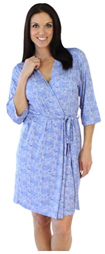bSoft Bird Trellis Robe (Summer Trellis)