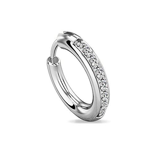 Buy Eloish 92 5 Sterling Silver Nose Ring For Women 92 5 Pure