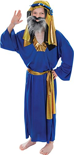 Wise Man Costume Uk (Small Blue Boys Wise Man Costume)