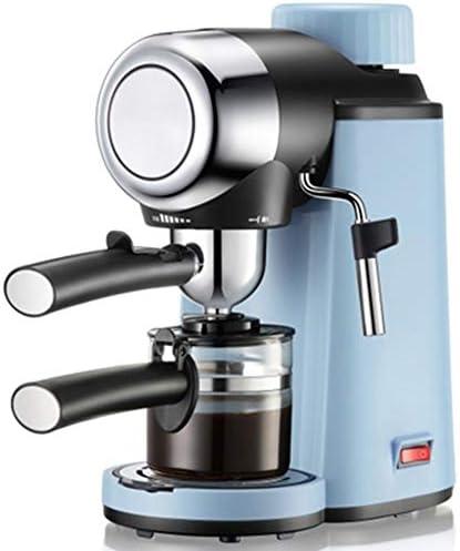 HEWE Italia del café Express de la máquina, K-Cup Pods posos de café 5 Bar Vapor de Alta presión Cafetera Semi-automática, para el hogar (Azul): Amazon.es: Deportes y aire libre