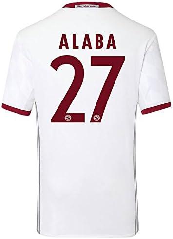 Alaba 27 M adidas Herren Fc Bayern München Replica UCL Trikot