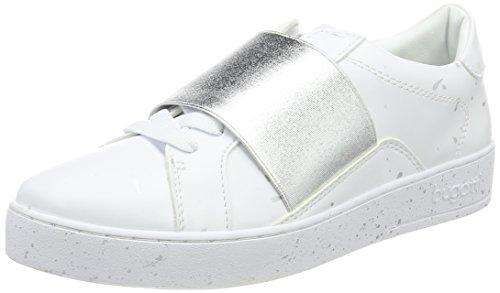 Bugatti Silver Weiß Women's Trainers White 422291045000 rRKFrqMcU