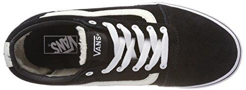 Glitter Vans Ward Weatherized U3h Fille Suede Basses Sneakers Noir Black 88wxBrfqg
