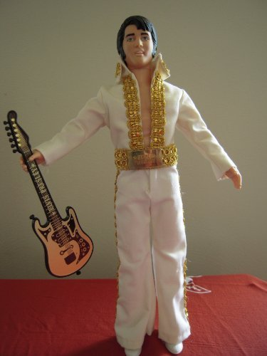Elvis Presley Doll With Guitar and Microphone ()