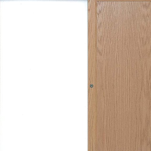 Traditional Oak Stain Conference Cabinet w Double Doors