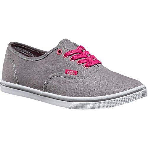 Vans Authentic Lo Pro Women US 8.5 Gray Sneakers