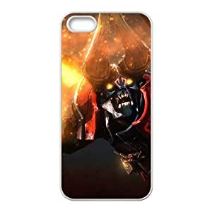 Dota2 DOOM iPhone 5 5s Cell Phone Case White 82You525951